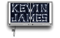 Kevin James - 2 color screen print