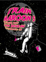 4 color screen print for the Train / Maroon 5 concert in Nashville