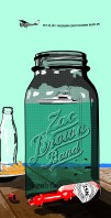 6 color screen print for Zac Brown Band